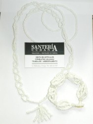 Collar de Obbatala Cabecera con Ilde (Obbatala)