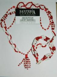 Collar de Chango Cabecera con Ilde (Shango)
