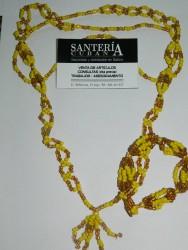 Collar de Cabecera con Ilde (Ochun)