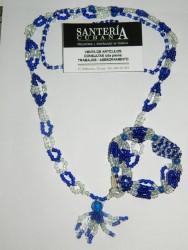 Collar de Yemaya cabecera con Ilde (Yemaya)