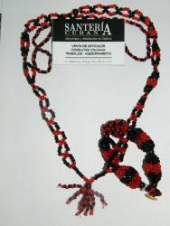 Collar de Eleggua Cabecera con Ilde  (Eleggua)