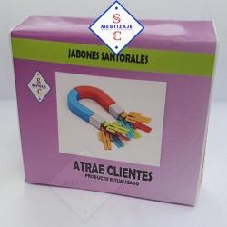Jabon Atrae cliente