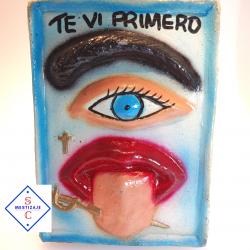 Amuleto - Cuadro  contra el Mal de ojo