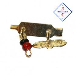 Amuleto Ojito De santa Lucía y Azabache (Ritualizado)